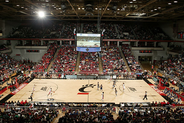 Fifth third arena university of cincinnati athletics