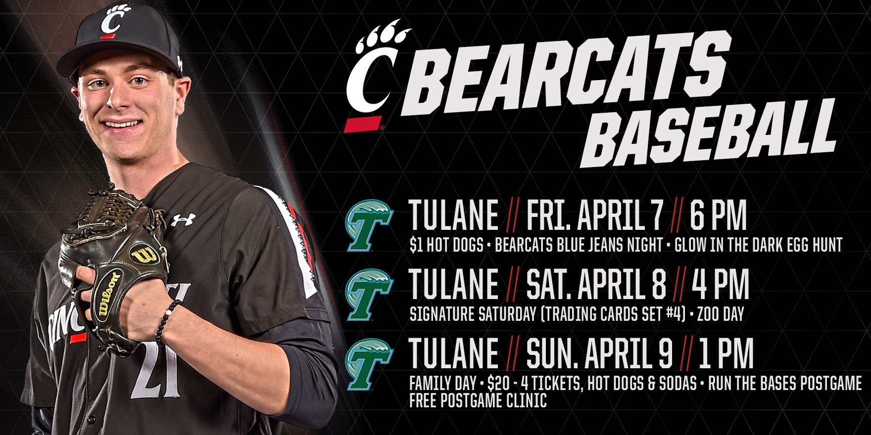 Baseball Welcomes Tulane For Weekend Series - University of