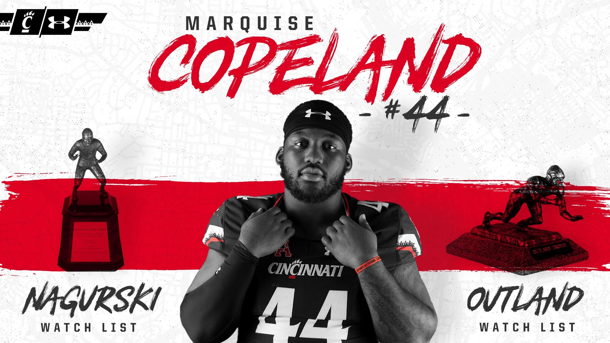 premium selection 21f56 fa8d9 Marquise Copeland Named To Two Watch Lists - University of ...