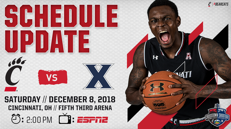 Skyline Chili Crosstown Shootout TV Network and Tip Time Announced - University of Cincinnati