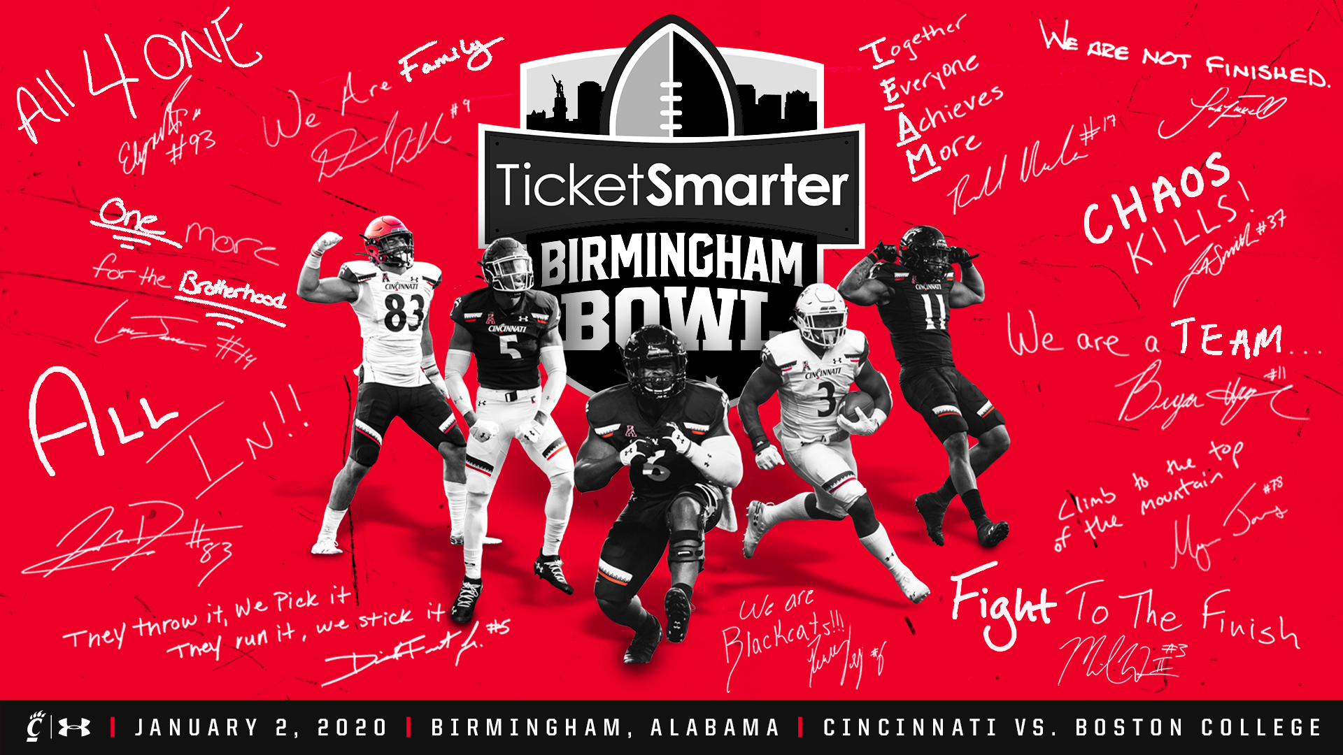 2020 19 Ncaa Football Bowl Games.No 21 Football Heads To Ticketsmarter Birmingham Bowl