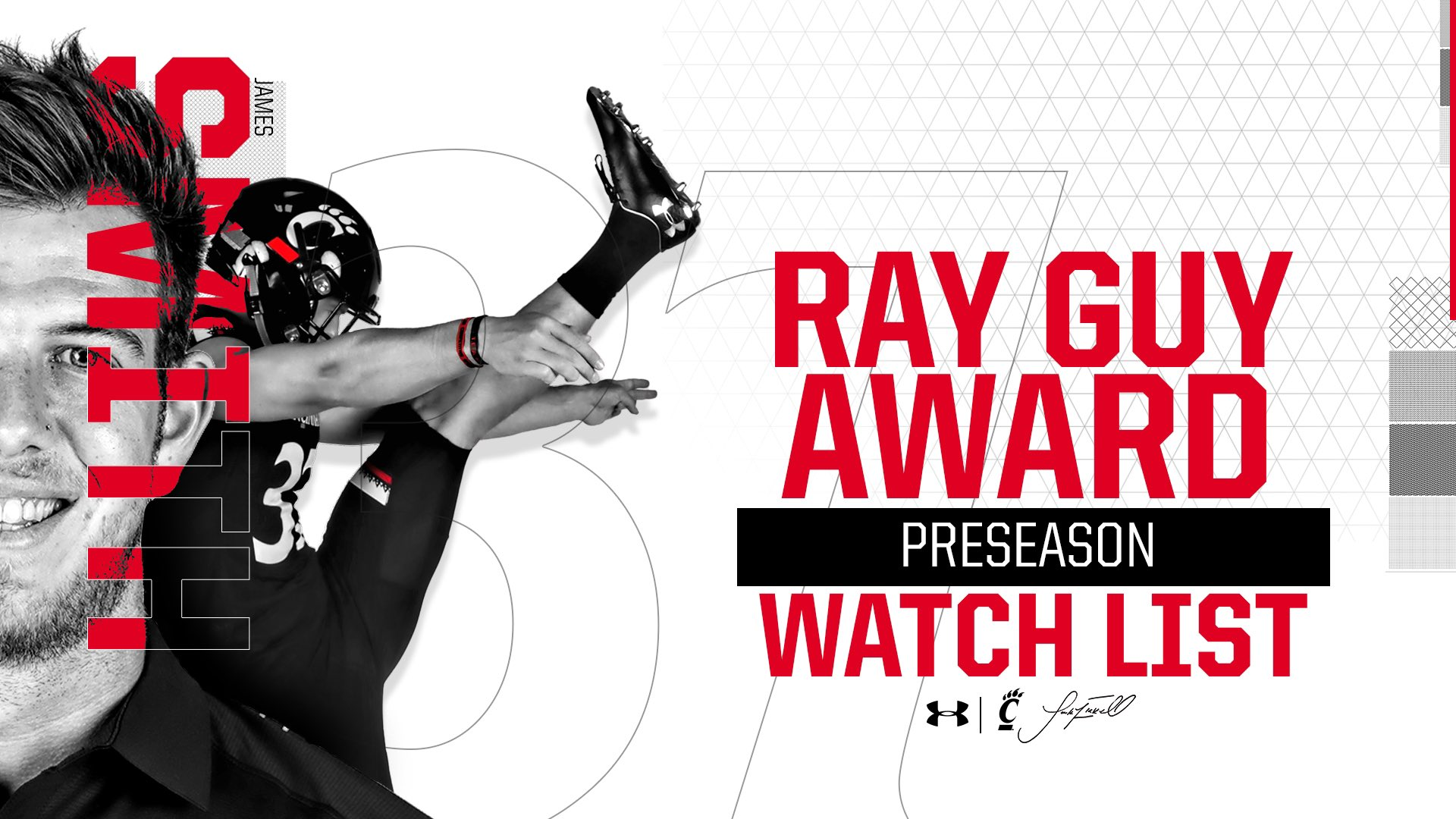 James Smith Named To Ray Guy Award Watch List - University of
